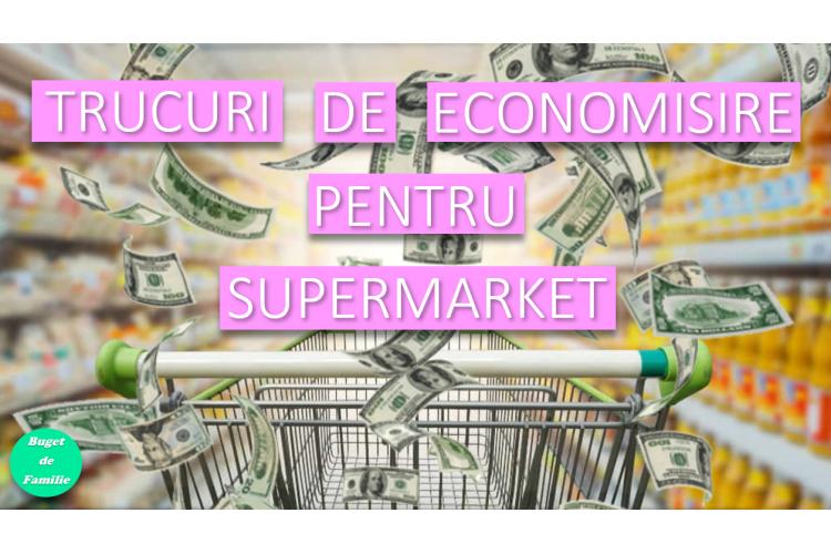 Trucuri la supermarket